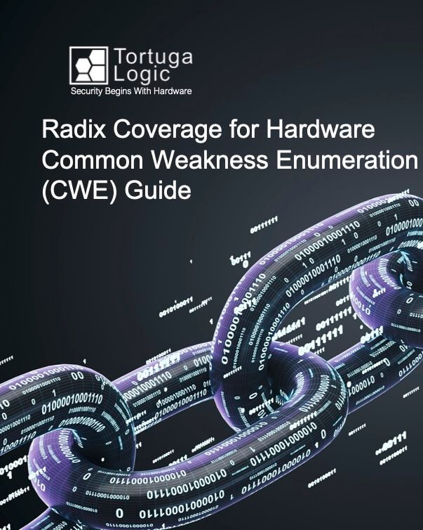Radix Coverage for Hardware CWE